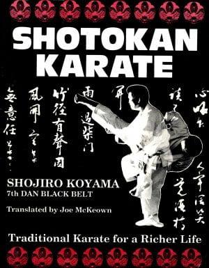 Koyama book Shotokan Karate - Traditional Karate for a Richer Life by Shojiro Koyama